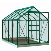 Serre Ivy 5 m² vert verre trempé