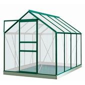 Serre Ivy 5 m² vert polycarbonate