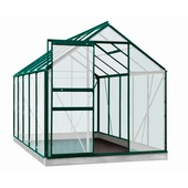 Serre Lily 6,2 m² vert polycarbonate