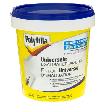 Polyfilla universele egalisatieplamuur wit 1 kg