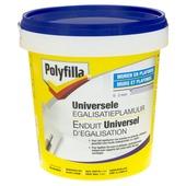 Enduit universel d'égalisation Polyfilla blanc 1 kg