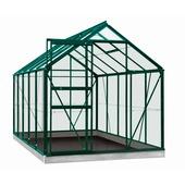 Serre Lily 6,2 m² vert verre trempé
