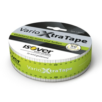 Isover Vario XtraTape afdichtingstape 20 m x 6 cm (enkel in de webshop te koop)