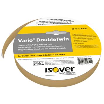 Isover Vario Double twin dubbelzijdige tape 50 m  (enkel in de winkel te koop)