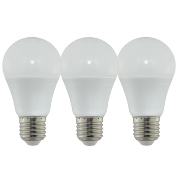 OK LED globe E27 6W=40W 470 lumen 3 stuks