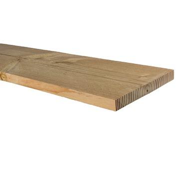 Planche de terrasse Douglas brut ± 240x20x2,2 cm