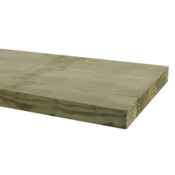Tuinplank grenen ruw ± 240x20x2,2 cm