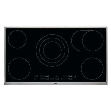 design de qualité 1f7e7 7570a AEG Table de cuisson vitrocéramique HK955070XB 90 cm