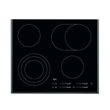 AEG Vitrokeramische kookplaat HK654070FB  59 cm driekringszone