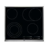 AEG Vitrokeramische kookplaat HK654070XB  58 cm driekringszone