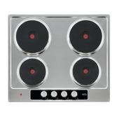 AEG Elektrische kookplaat HK614000H  58 cm 4 elektrische snelwarmplaten