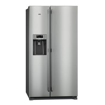 AEG Side by side réfrigérateur RMB76121NX 178X91cm