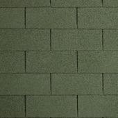Shingles 9 m² groen 3 stuks inclusief nagels