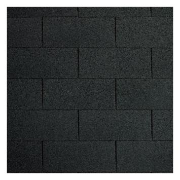 Bardeaux 8 m² noir 3 pièces clous inclus