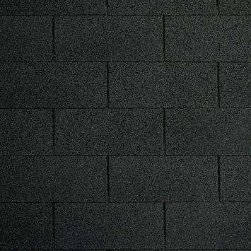 Bardeaux 21 m² noir 8 pièces clous inclus