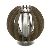 Eglo tafellamp Cossano bruin