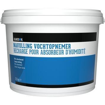Recharge pour absorbeur d'humidité Handson 2,5 kg
