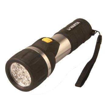 Lampe de poche led Easy line day light Varta 2AA noir