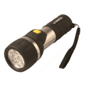 Lampe de poche led Easy line day light Varta 2AA noir
