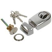 Serrure à appliquer Yale rim lock nickel mat
