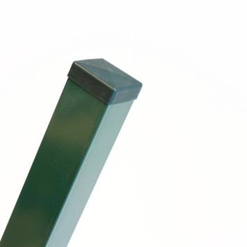 Vierkante paal groen 175 cm