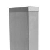 Poteau carré galvanisé 100 cm