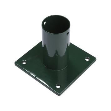 Voet voor ronde paal groen 60 mm