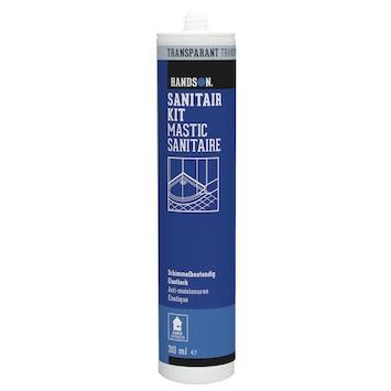 Mastic sanitaire Handson transparent 310 ml