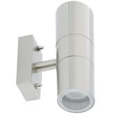 GAMMA wandlamp Edmonton 2xGU10 exclusief lampen max. 35W inox