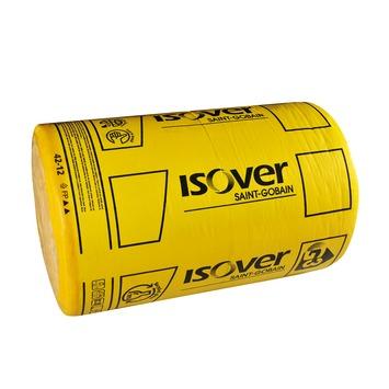 Rouleau de laine de verre à languettes Isover Rollisol plus épaisseur 20 cm 4,2 m² R=5 350x60 cm 2 pièces (uniquement en vente au magasin)