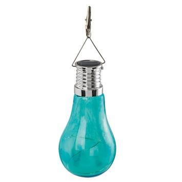 Suspension solaire Eglo bleu 4 LED