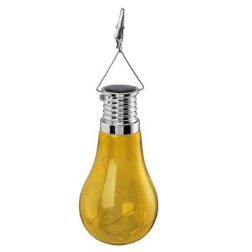 Suspension solaire Eglo jaune 4 LED