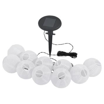 Guirlande lumineuse solaire Eglo blanc 10 LED