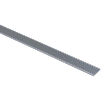 Essentials slijtstrip 30x3 mm 2000 mm aluminium brut