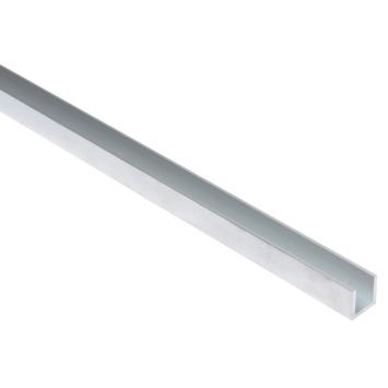 Essentials U-profiel 15x15x15x2 mm 2000 mm aluminium brut
