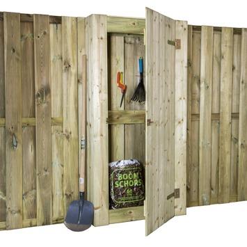 Armoire de clôture verticale 180x90 cm