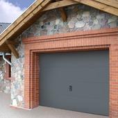 Wayne Dalton garagepoort antraciet 250x212,5 cm (exclusief kozijn 318564)