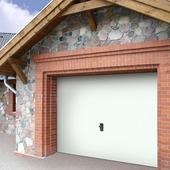 Porte de garage Wayne Dalton 240x212,5 cm blanc (sans encadrement 318563)