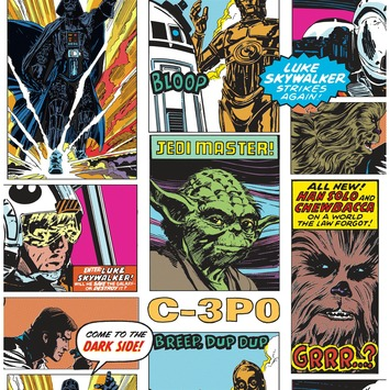 Papierbehang Star Wars 70-573
