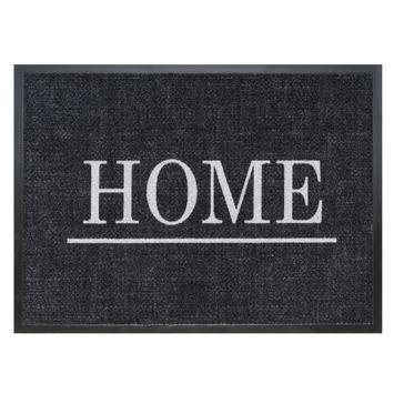 Voetmat chromo modern home 50 antraciet 60x80 cm