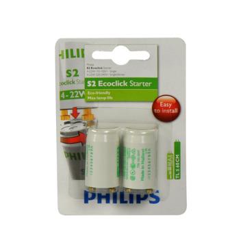 Philips starter TL S2 4W-22W 2 stuks