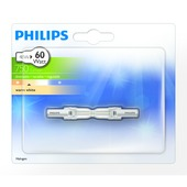 Philips ecohalogeen staaflamp 78 mm 750 lumen 48W = 60W