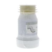 Wirquin wc pijp uitrekbaar met lippen wit