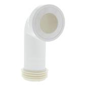 Wirquin WC-afvoerbocht 90 graden wit 110 mm