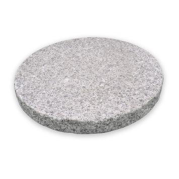 Stapsteen Graniet Gevlamd Grijs 30x30x3 cm - Per 11 Stuks
