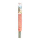 Tesa Moll deurstrip standard 12mm met lip bruin