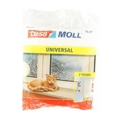 Tesa Moll tochtstrip universal 25x6 mm 10 m wit
