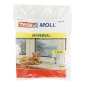 Tesa Moll tochtstrip universal 9x6 mm 10 m wit