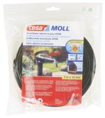Isolation tuyau Tesa Moll EPDM adhésif 20 mm 5 m noir