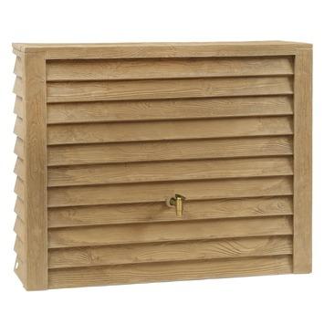 Tonneau de pluie Woody brun clair + accessoires 350 L